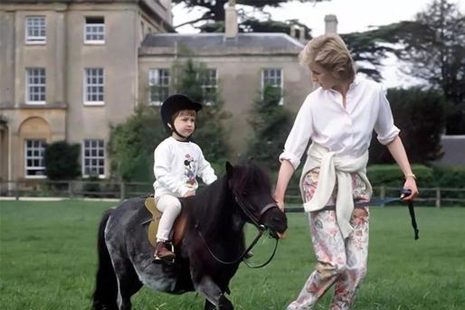 直击戴安娜王妃与威廉王子、哈里王子温情时刻,也许你从未见过