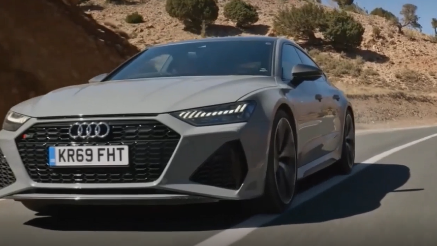 New Audi RS7 Sportback 行走的荷尔蒙