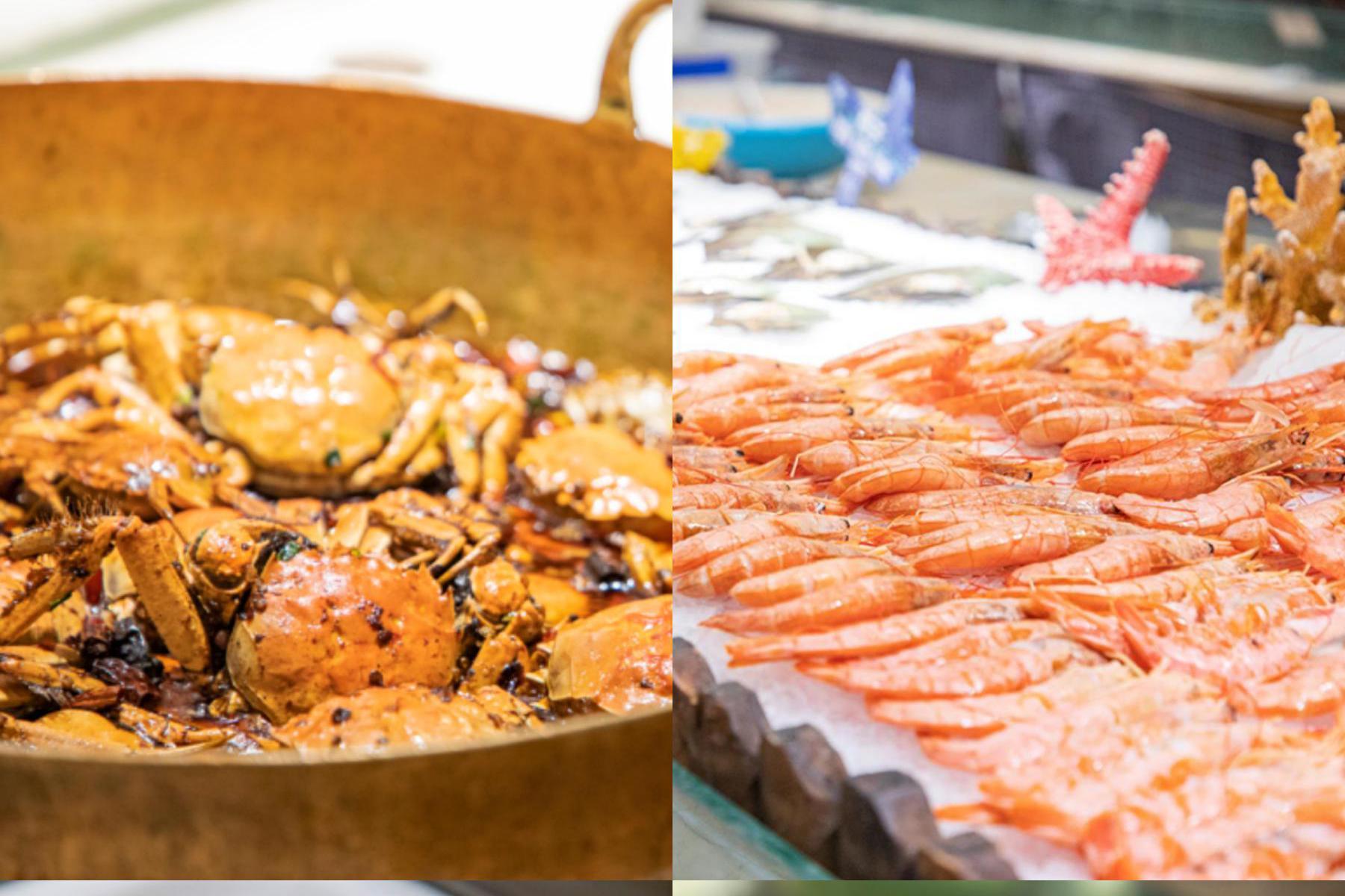 吃海鲜的最佳季节,大连海仙港海鲜烤肉火锅自助带你畅快尝鲜