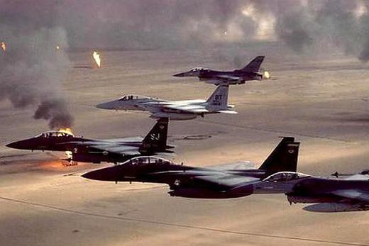 伊拉克战争,萨达姆为何将战机埋在黄沙之下,也不肯与美军一战?