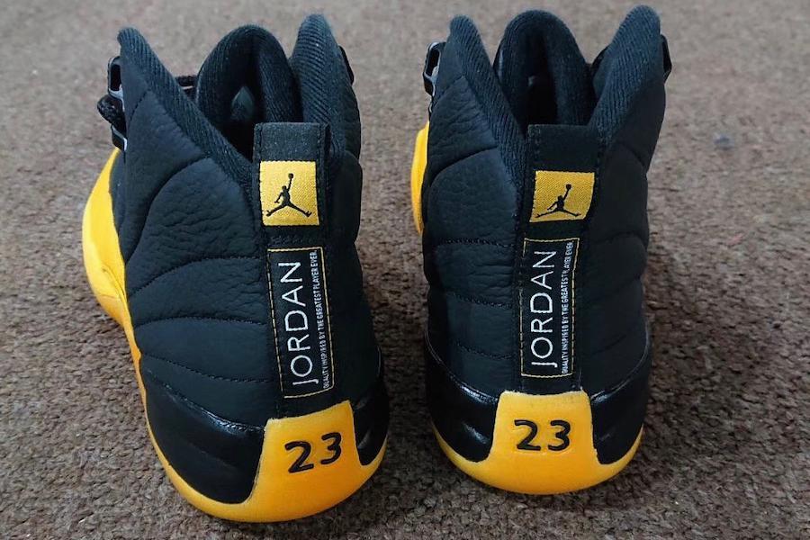 佩顿曾经的湖人 PE 市售,Air Jordan 12 黑黄实物曝光!