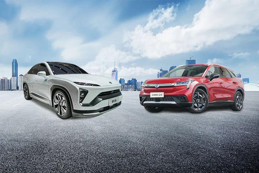 买中型纯电轿跑SUV,35万选蔚来EC6还是广汽新能源埃安LX?