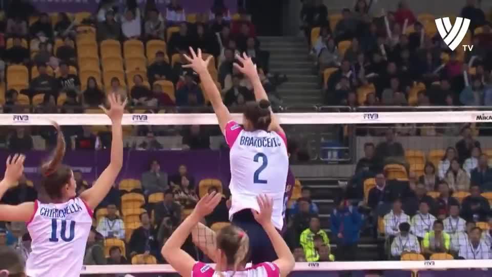 朱婷!Volleyball Queen!2019女排世俱杯精彩回顾!