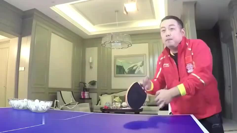 """刘国梁乒乓球,""""唯一学员不敢说你行,你上的项目"""""""