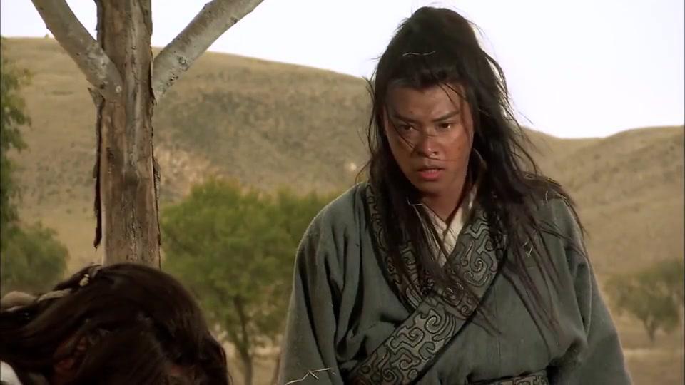 王昭君:王盾被匈奴救下,虽然是敌人,但二人却惺惺相惜