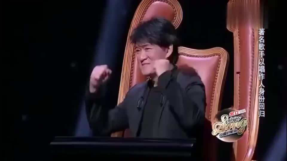 中国好歌曲:周华健看其他导师推杆后表情,也推杆了