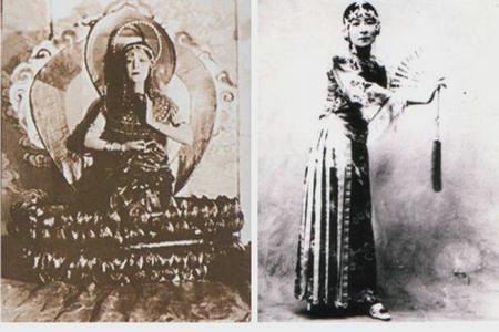 慈禧太后御前最美女官,中国芭蕾第一人,为何晚年自断双腿?