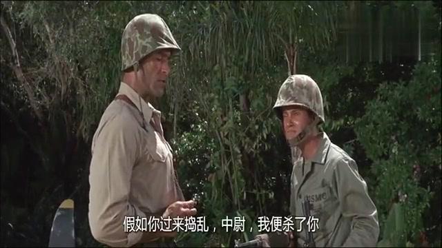 战争片:休战了,日军允许美军取水,结果对方用飞机油箱来盛水!