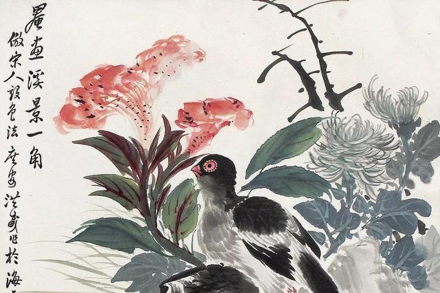 他是花鸟绘画大师,参与创建停云书画社,留世作品不多却都是经典