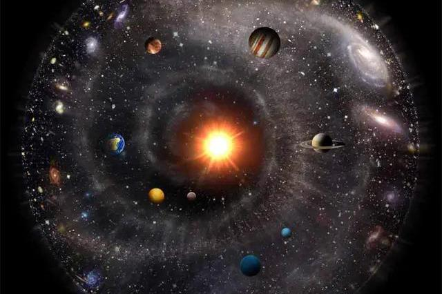 """138.2亿年前,宇宙大爆炸""""炸""""出所有物质!那原材料来自哪?"""