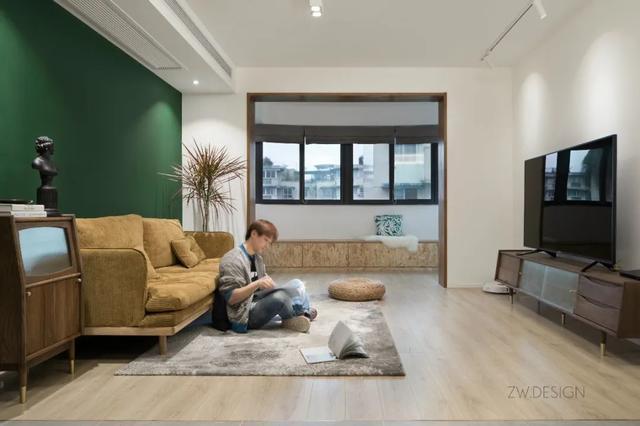 68㎡现代轻奢,二手房翻新改造,小户型变身,简约小资的华丽感