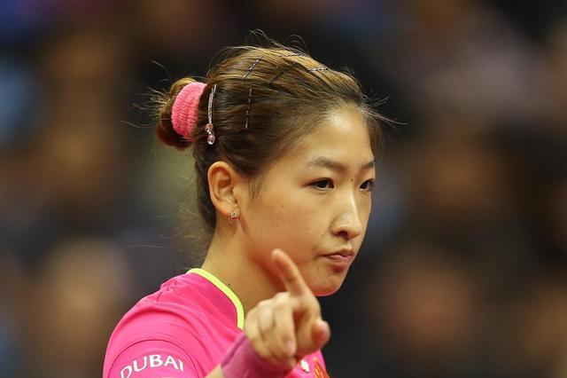 中国女乒人气王刘诗雯可能创造一个新的奥运会纪录!加油啊