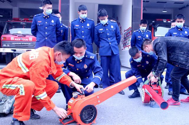 阳新县消防救援大队举办森林火灾扑救知识讲座