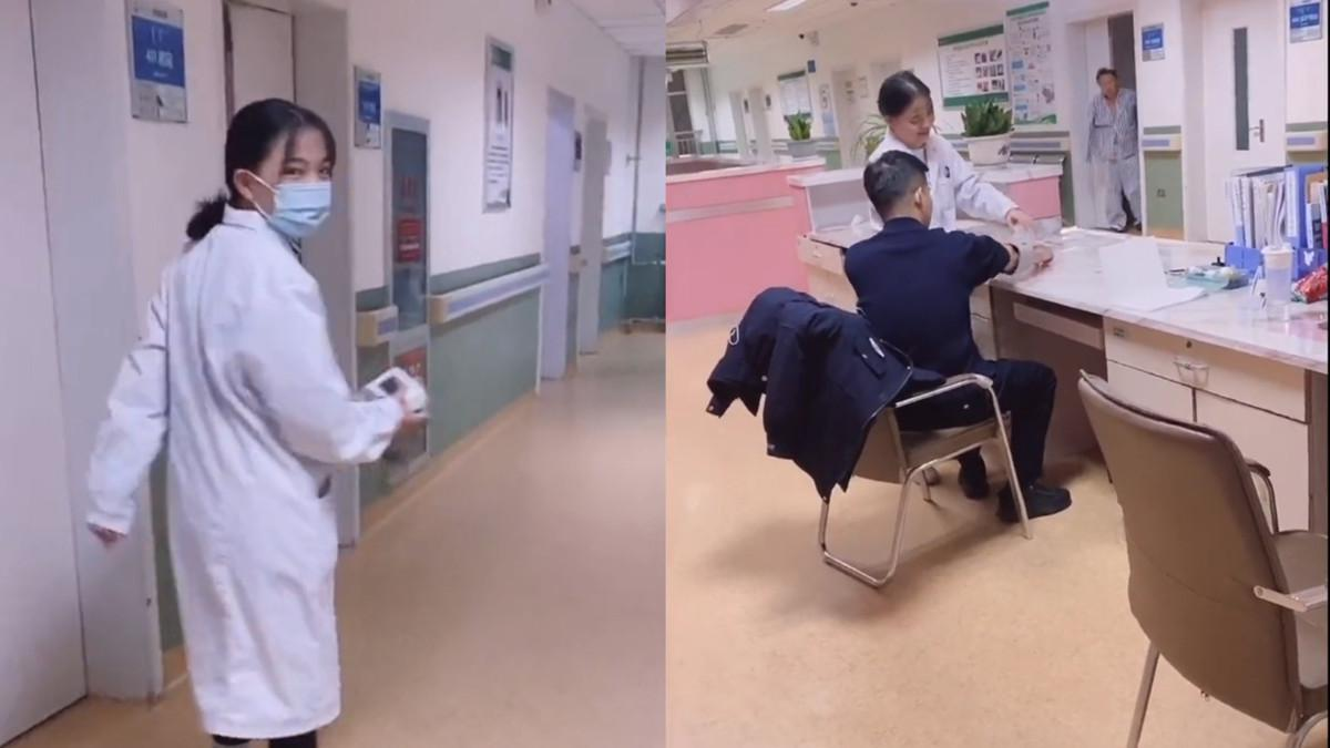 护士得知有帅气警察想要勾搭又数次止步 结局让人哭笑不得