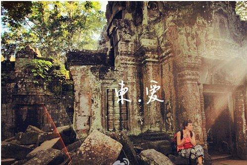 令人震撼的柬埔寨塔普伦寺,你看到树中的佛了吗?