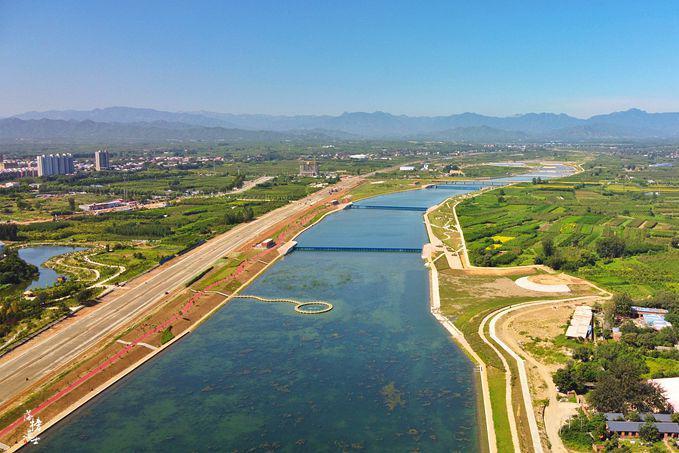 石家庄赞皇有一处槐河湿地,山清水秀,是乡村休闲游的好去处