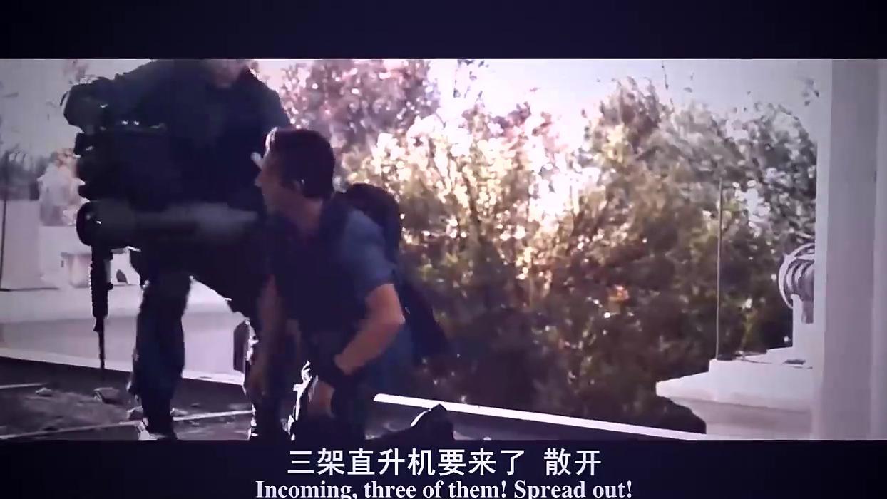 武装直升机前去解救人质,被导弹锁定惨遭击中坠毁