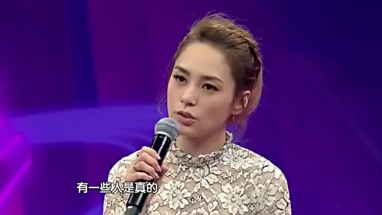 阿娇钟欣桐:好多女孩为了工作去整容,这是能理解的范围