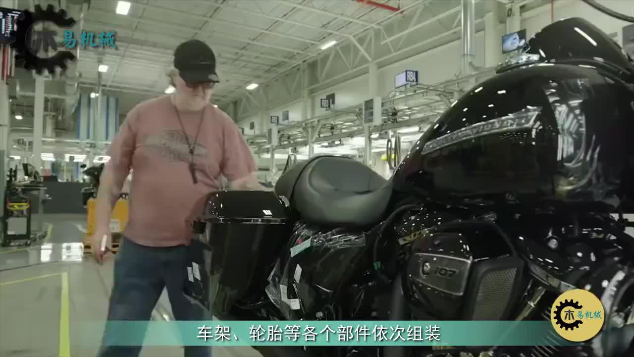 """哈雷摩托车几十万嫌贵?看生产过程才知道配得上它的""""天价"""""""