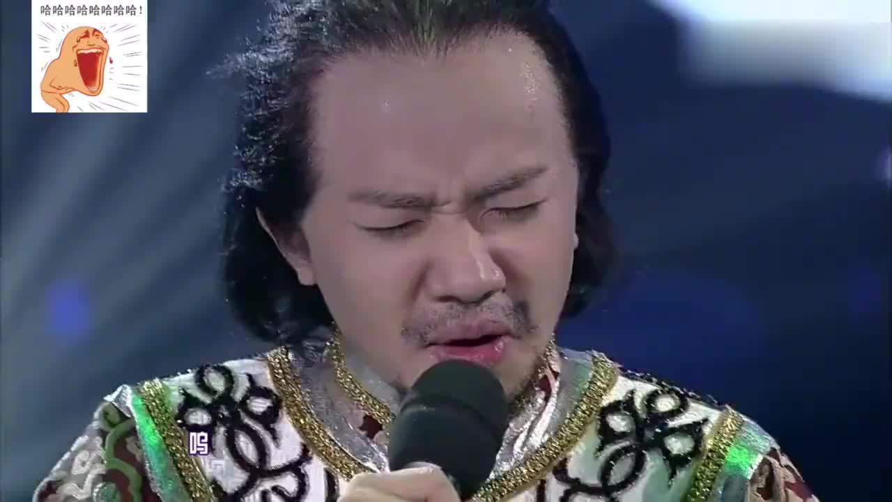 王祖蓝的模仿秀,每一个都惟妙惟肖,李亚兰男全程花痴状