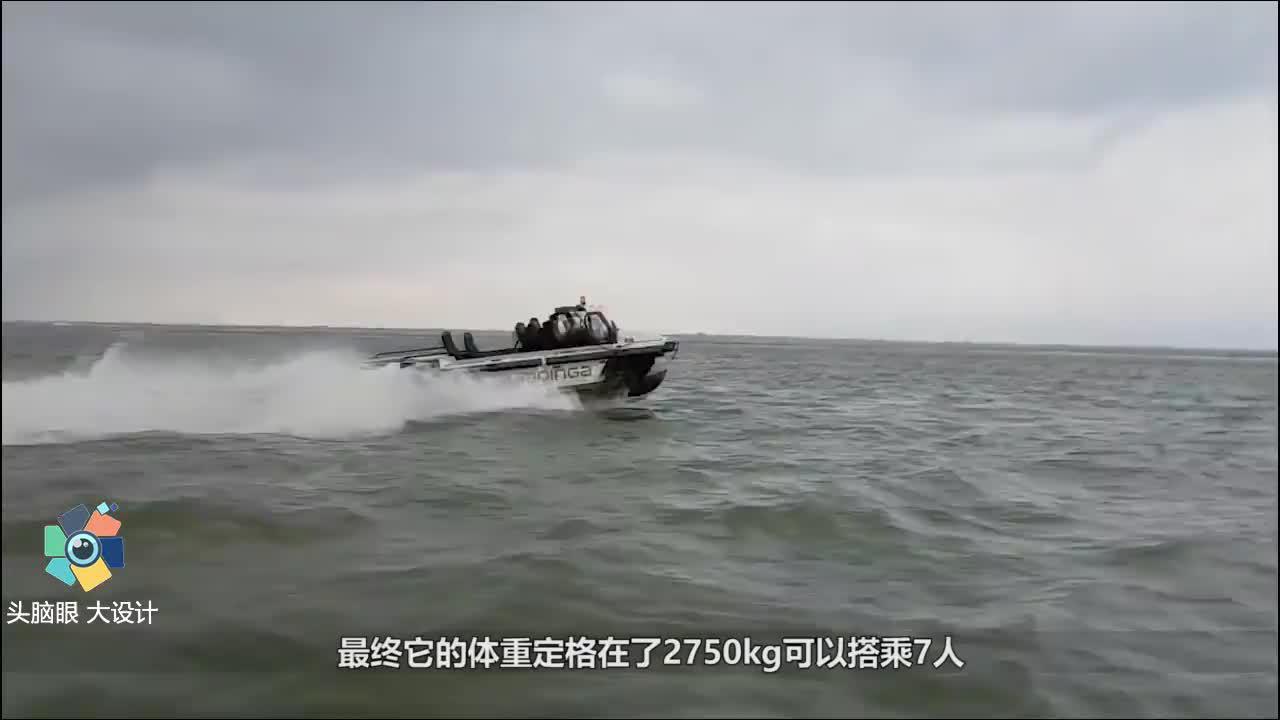 世界首款,能在水上跑的汽车,5秒钟变成私人游艇,再不怕下大雨
