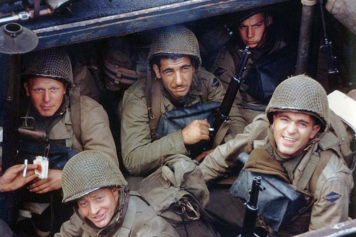 二战老照片:诺曼底登陆,盟军在欧洲全面反击
