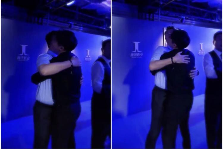 俞灏明和任重拥抱的样子比很多情侣都要甜蜜吧?就说羡慕不羡慕?