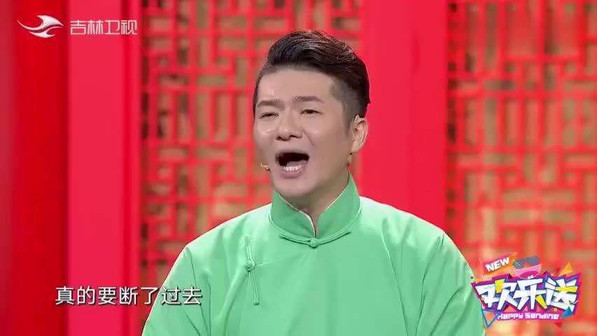 欢乐送:李鹤东被谢金打扮成阿依土鳖公主,这长长的头纱太喜人
