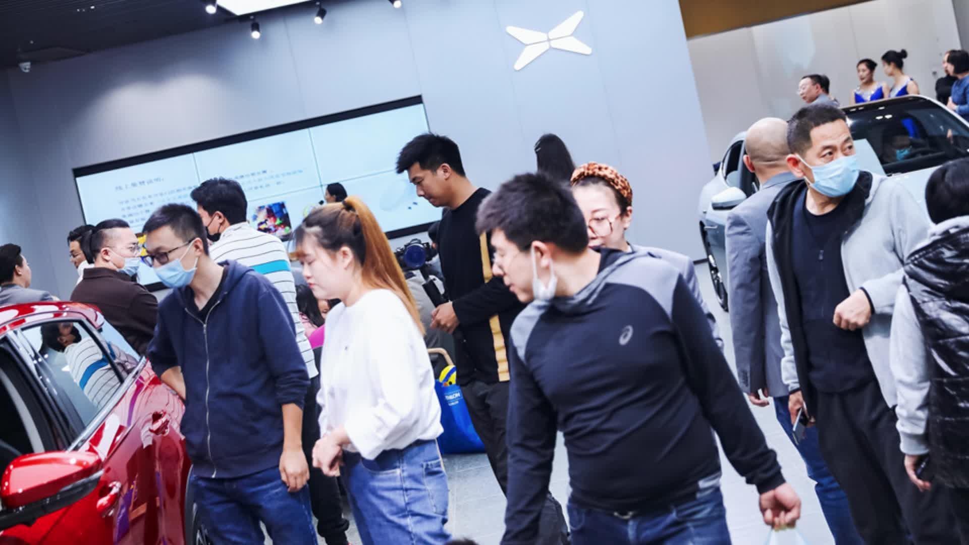 小鹏汽车5城7店联合开业,与鹏友一起欢迎更多鹏友