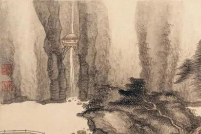 龚贤:一生只画山水画,作品曾对日本画坛产生重要影响