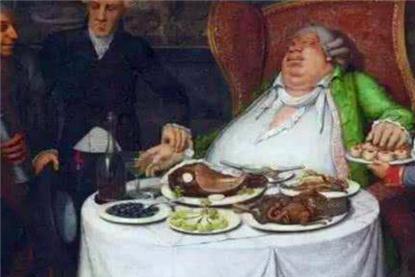 历史上最著名大胃王,一餐吃掉15人伙食,尸检时臭气熏天令人作呕