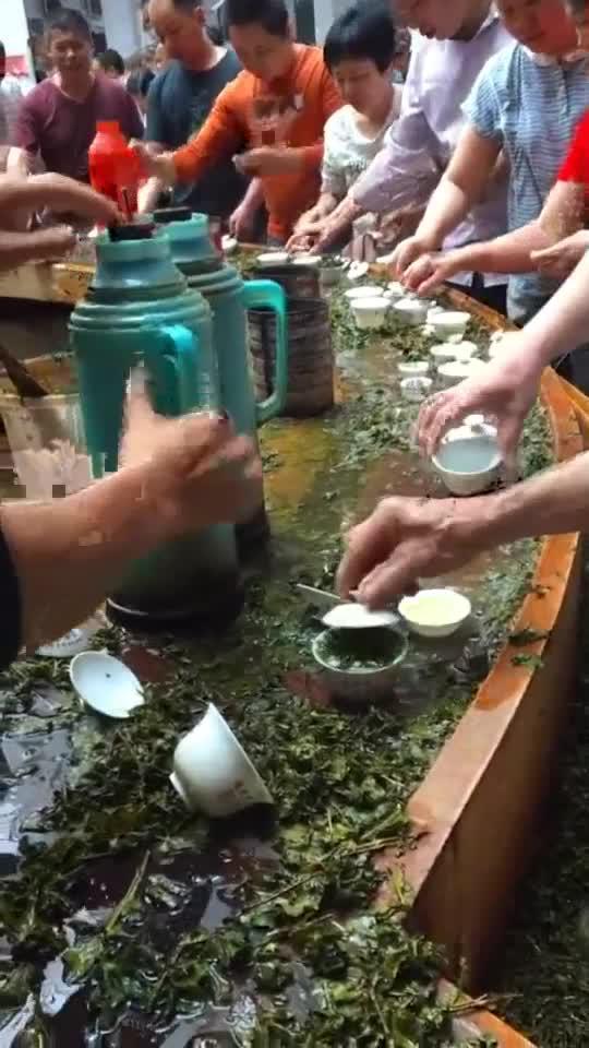 传承了百年的茶场,都是先品后买,绝对的童叟无欺!