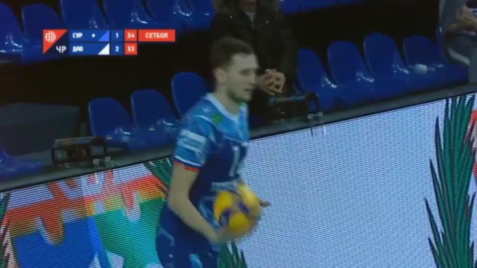 第一个发型真酷,俄罗斯男排超级联赛第16轮TOP10精彩球