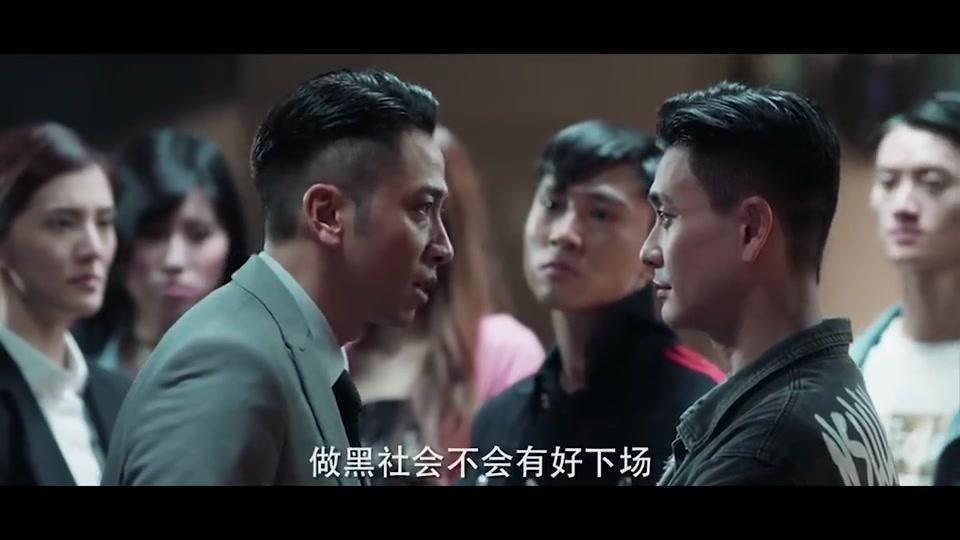 《战毒》版《无间道》:黄宗泽吴卓羲上演天台谈判