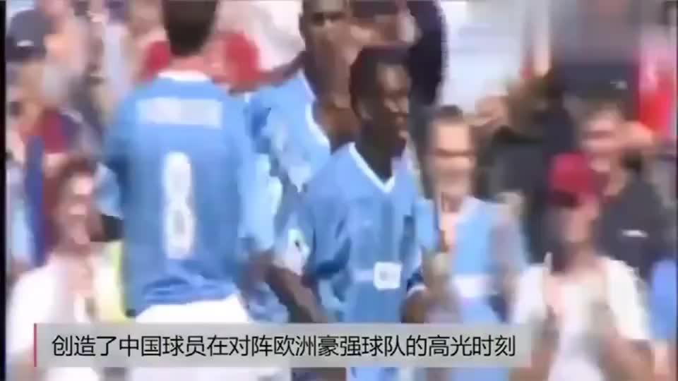 中国足球技术不行谁说的看看孙继海代表曼城战巴萨这助攻