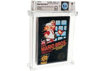 NES《超级马里奥兄弟》卡带拍出11万4千美元高价刷新纪录