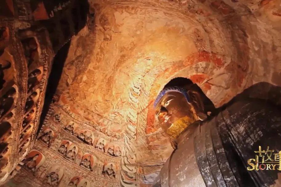 在须弥山石窟中,有一千多年前来自中亚的惊喜