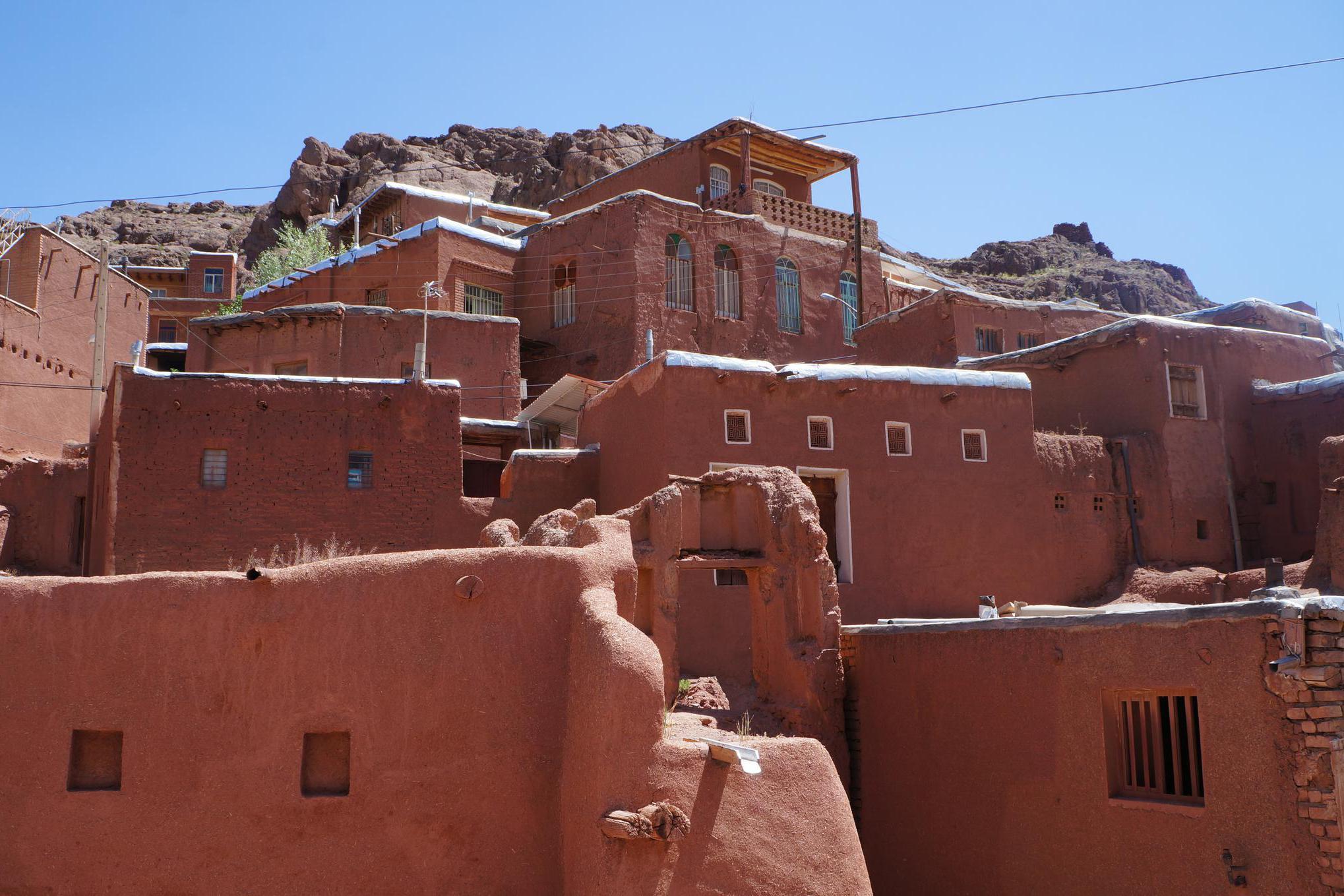 游览 西亚 伊朗 卡尚 奥比扬奈村