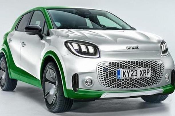 纯电Smart SUV将于9月发布 2022年投放市场并在全球发售