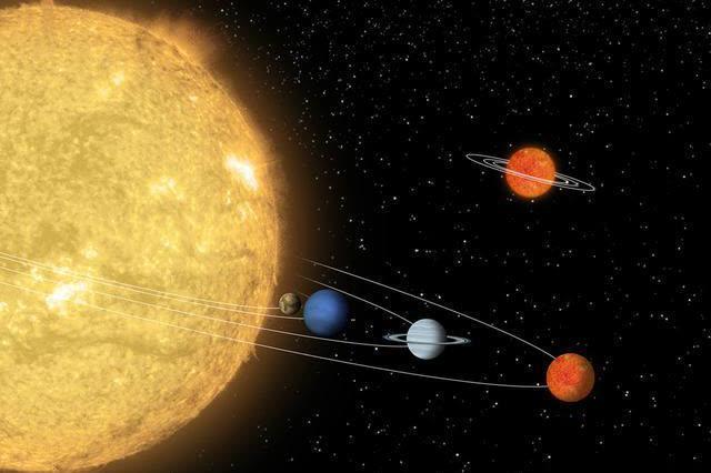 太阳系什么样?失真的太阳系图片,让我们误会了太阳系真正的样子