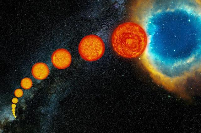 太阳质量很大,但表面积也大,为什么燃烧了46亿年没见变小呢?