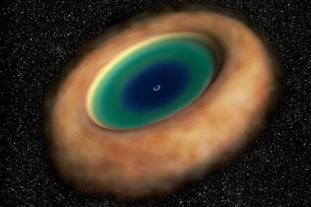 宇宙给了黑洞黑色的身躯,人类却用它来探测光明