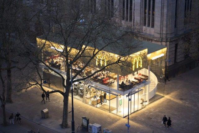 全世界最美的麦当劳餐厅,最具设计美感的快餐餐厅,亮丽的风景线