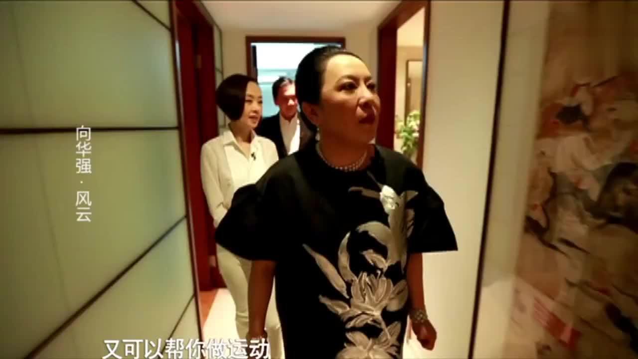 向氏夫妇带鲁豫参观豪宅,马云李连杰霸气出镜向华强寿宴
