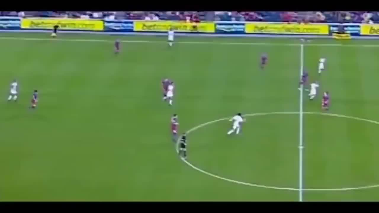 肉眼可见的天赋!梅西04-06赛季个人集锦