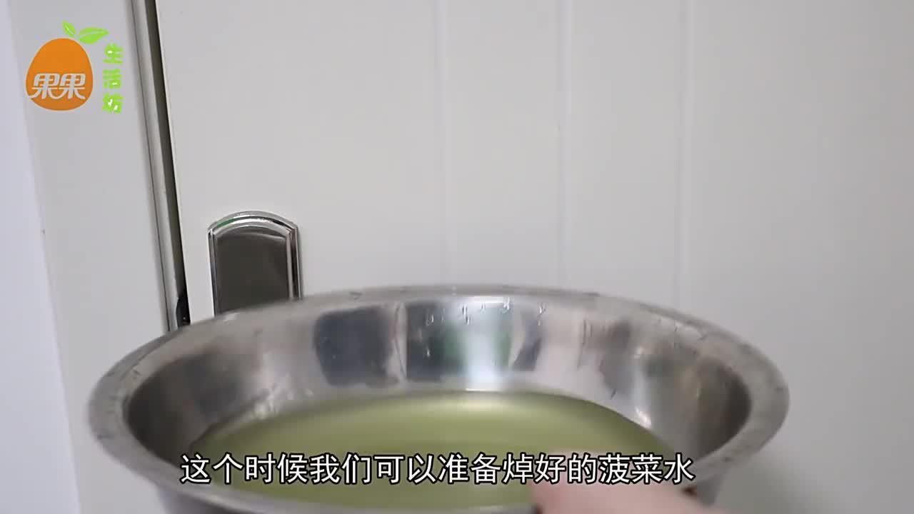 焯完菠菜的水,别再倒掉了!留在家中是个宝,早知早受益