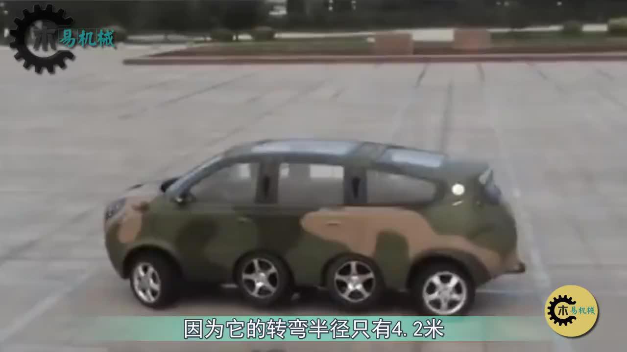 """三国造出""""8轮""""汽车,看看中日俄哪家强?"""
