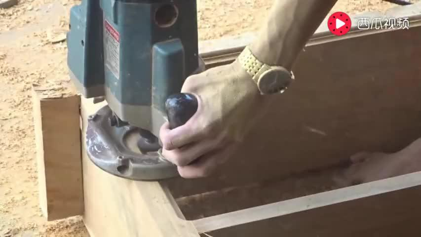 现在农村干木工活用的工具也这么先进了吗?比想象中高端不少