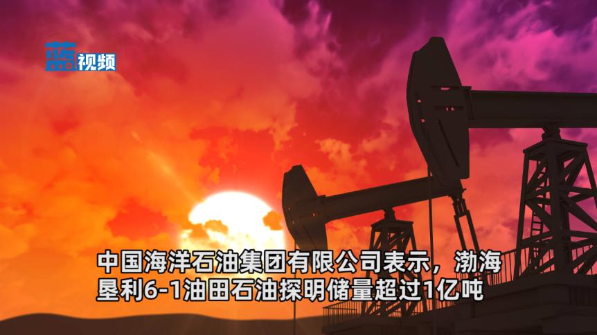 中海油:渤海发现一亿吨大油田 可供100万辆汽车行驶20余年