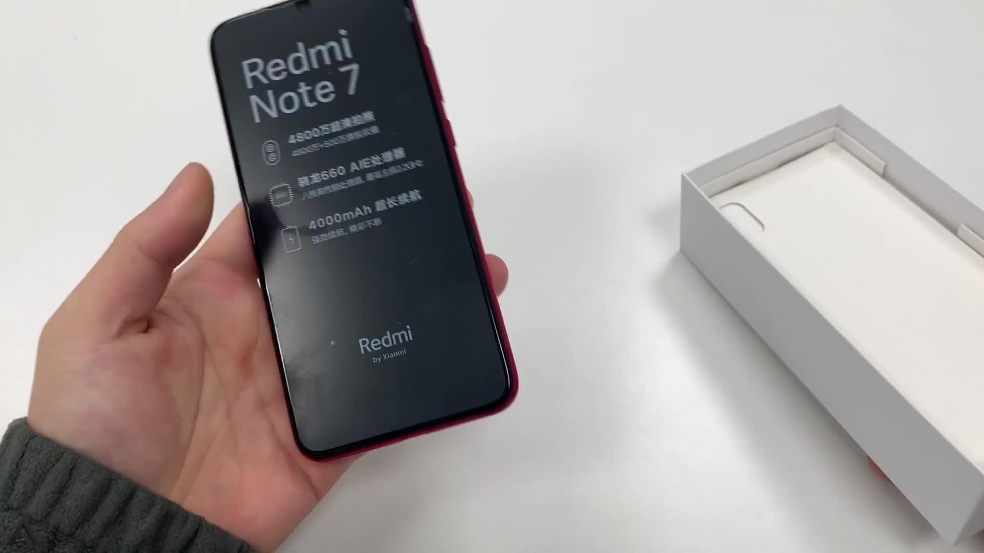 红米Note7开箱真机确实被惊艳到了,999元真的服气